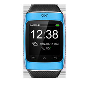 酷道 S12触屏蓝牙智能手表手环腕表计步器智能穿戴免提通话手机伴侣 蓝色