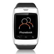 酷道 S12触屏蓝牙智能手表手环腕表计步器智能穿戴免提通话手机伴侣 白色