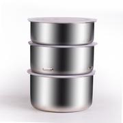 十度良品 SD-909电热饭盒  三层大容量 不锈钢电热饭盒 加热饭盒 插电