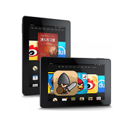 亚马逊 Kindle Fire HD 7 7寸平板电脑(1.7Ghz双核/1G/8G/2014款)黑色