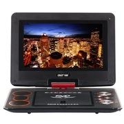 先科 K-108 12.2英寸 便携移动DVD支持RMVB/有线信号/机顶盒(红色)