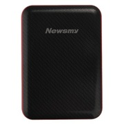 纽曼 吉云 2.5寸USB3.0 移动硬盘 经典黑红 薄款 1.5TB存储