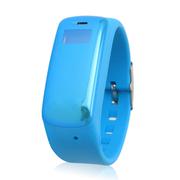 现代演绎 北斗定位儿童安全卫士 北斗定位/GPS/LBS精准定位手表通话手机SOS历史轨迹 浅蓝色 基站+GPS