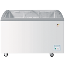 海尔 SC/SD-332 260升商用展示柜卧式冷柜玻璃门单温一室转换冰柜产品图片主图