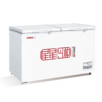 星星 BD/BC-408C 408升卧式单温双门冷冻冷藏转换顶开门冷柜产品图片主图