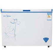 美的 BD/BC-297KMQ 297升卧式冷柜商用单温冷冻冷藏卧式单门冰柜