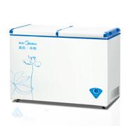 美的 BCD-205VMQ 205升卧式冷柜双温冷冻冷藏卧式 保鲜速冻冰柜冰柜