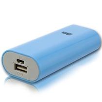 半岛铁盒 U5000小巧、超便携5000毫安进口动力电芯移动电源充电宝 天使蓝产品图片主图