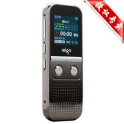 爱国者 录音笔R5522 4G/8G 50米PCM线性录音 高清降噪声控 黑色 4G