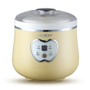 麦卓 Makejoy全自动酸奶机MJ-2118不锈钢内胆1升 2117米色陶瓷内胆1升