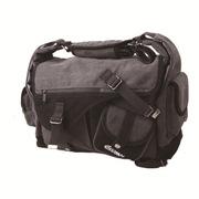 锐玛 EMB-SS15 加厚帆布单反相机包单肩摄影包 可放一机三镜一本 炭灰色