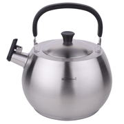 HUANXIPO 复底加厚304不锈钢烧水壶4.5L鸣笛家用煮水壶大容量电磁炉煤气通用 欧式水壶
