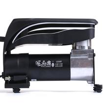 风劲霸 车载充气泵汽车打气泵 台湾独创蓝光便携式时尚充气泵LG500产品图片主图