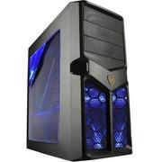 撒哈拉 眼镜蛇2玩家版 游戏机箱(支持背线/时尚风格) 黑色