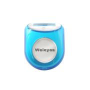韦乐雅斯 电子计步器卡路里多功能计数器 浅蓝色