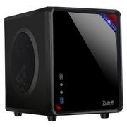 大水牛 牛仔MINI(黑/桌面机箱开创者/U3/背线/25CM长显卡/ATX大电源/SSD/)