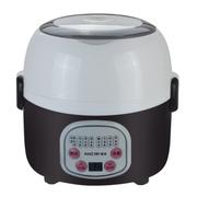 麦卓 Makejoy多功能酸奶机蒸煮电热饭盒MJ-2011双层加热保温饭盒不锈钢内胆插电保温 三层粉色