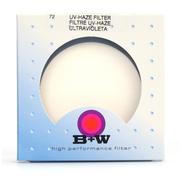 B+W B W  72mm PRO UV 铜圈 72mm 单层镀镆UV镜 滤镜