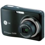 GE C1233 数码相机 黑色 (1200万像素 3倍光学变焦 2.4寸液晶屏 1600高ISO 全景拍摄 入门相机 )