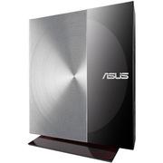 华硕 SDRW-08D3S-U 外置 DVD刻录机(黑色)