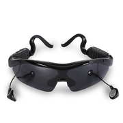 CASMELY 智能触控蓝牙太阳镜 男女偏光蓝牙眼镜 可听音乐通话 黑色