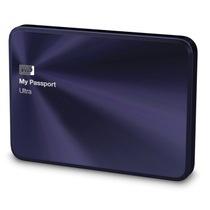 西部数据 My Passport Ultra 金属版USB3.0 1TB 超便携移动硬盘 (宝石蓝)BTYH0010BBA产品图片主图