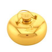张小泉 暖心系列中号铜制汤婆子 暖脚宝铜暖壶C60510100