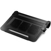 酷冷 U3 plus 笔记本散热垫 (全铝面板/三风扇/静音/自由移动)