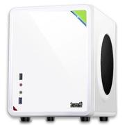 大水牛 牛仔MINI(白/桌面机箱开创者/U3/背线/25CM长显卡/ATX大电源/SSD/)