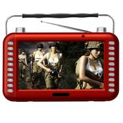 紫光电子 7英寸大屏高清视频看戏收音机MP4MP3播放器老人戏曲 7英寸超长版+16G卡下载好