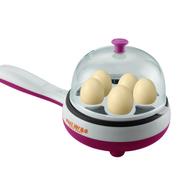 麦卓 Makejoy多功能煮蛋器煎蛋器电煎锅MJ-2113 2113玫红-煎+煮蛋功能