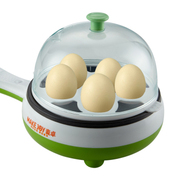 麦卓 Makejoy多功能煮蛋器煎蛋器电煎锅MJ-2113 2113绿-煎+煮蛋功能