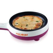 麦卓 Makejoy多功能煮蛋器煎蛋器电煎锅MJ-2113 2113玫红-单一煎锅