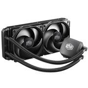 酷冷 冰神240M CPU水冷散热器(多平台/一体水冷/静音/高效水冷泵)