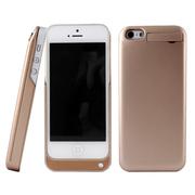 影巨人 P8810 苹果iPhone5/5s 背夹电池 移动电源 手机充电宝 直插背夹式电池 金色