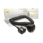 尼康 闪光灯TTL延长线线 SC-28 D3/D700/D300/D90/D80遥控延长线
