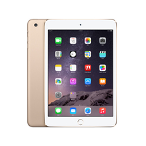 苹果 iPad mini3 MGYE2CH/A 7.9英寸平板电脑(苹果 A7/2G/16G/2048×1536/iOS 8/金色)产品图片主图