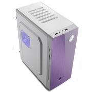金河田 21+预见 N-5 MINI 紫罗兰机箱 (10秒开机SSD/背线/180度旋转硬盘托架/4风扇位)