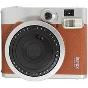 富士 趣奇(checky)instax mini90相机 优雅复古 银棕色