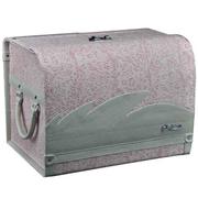 安程 Anjuny 汽车收纳箱系列 时尚款 车用收纳箱 粉色