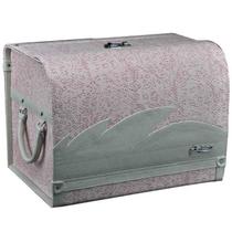 安程 Anjuny 汽车收纳箱系列 时尚款 车用收纳箱 粉色产品图片主图