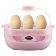 麦卓 Makejoy全自动多功能煮蛋器MJ-2110煎蛋器长方形煎蛋煮蛋蒸水蛋单双层可选 MJ-2110粉色单层