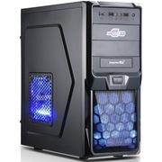 鑫谷 战枭5号火力加强版电脑机箱 USB3.0/支持SSD/内部黑化烤漆/支持超长显卡/全网孔面板