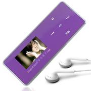 紫光电子 T362 16级变速 FM收音机8G全金属MP3播放器 外放AB复读/FM收音机 紫色+送原装立体声耳机+充电器