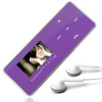 紫光电子 T362 16级变速 FM收音机8G全金属MP3播放器 外放AB复读/FM收音机 紫色+送原装立体声耳机+充电器产品图片主图