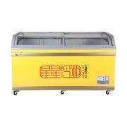 星星 SD/SC-700BY 700升商用冷冻卧式双门冰柜 冷冻冷藏转换