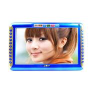 小霸王 视频播放器S16 9英寸高清视屏视频机全格式看唱戏外置机4000毫安更换电池 蓝色 加16G戏曲广场舞卡