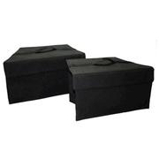 酷玛传奇 斯柯达明锐 昕锐 昊锐后备箱置物箱储物盒整理箱置物盒 昊锐专用 左右两侧
