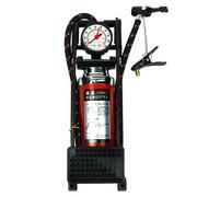 风王 脚踏车载打气泵CC-101A 脚踩汽车用充气泵 电动摩托车便携轮胎打气筒