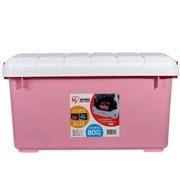 爱丽思 RV BOX 600 车用 收纳箱 粉/白 最大容量约40升